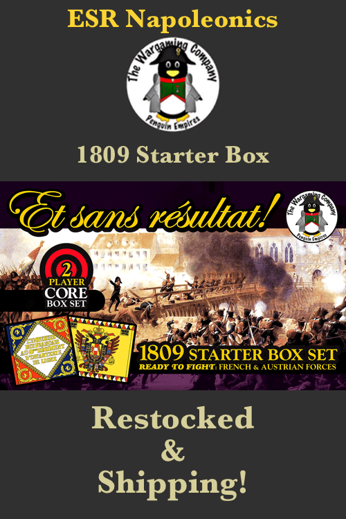 ESR 1809 Starter Box Restocked!