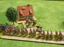 017 Allied Army Commander reviews the Hanoverian march past