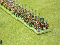 019 Hanoverian Musketeers on the march