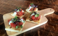 Ahi Tuna Flatbread