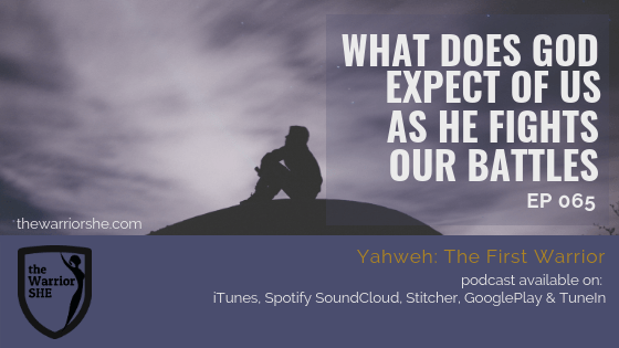 What Does God Expect of Us as He Fights our Battles? {Ep. 065}