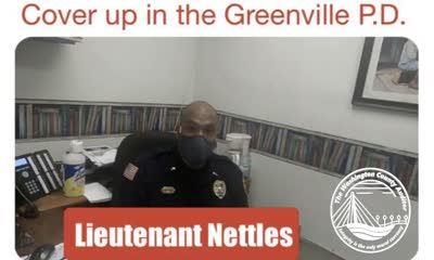 Corruption Or Incompetence? The Greenville P.D. Internal Affairs Refuses To Hear Charges Of Assault Against Department Officer.
