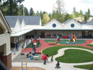 Early Learning Center play yard