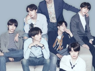 BTS in a recent LG ad campaign