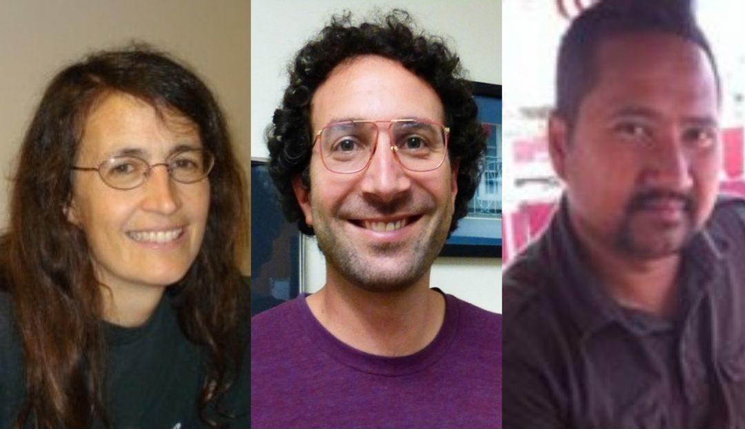 Katherine Hunt, David Spataro, and Anthony Tessandori