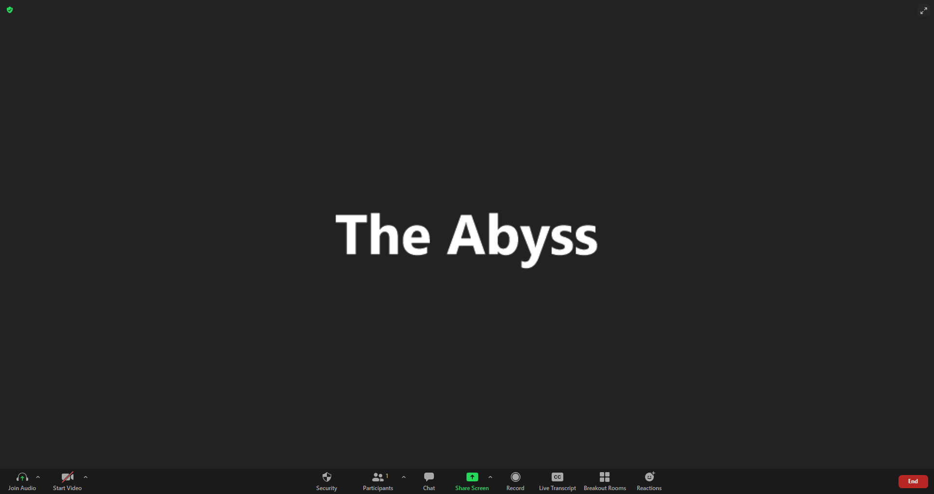 The Zoom Abyss