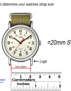 How to measure your lugs also easy steps find strap size the watch prince rh thewatchprince