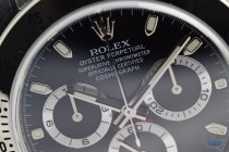 Hands-On Review: Rolex Cosmograph Daytona Stainless Steel ref. 116520 (Black)Rolex Daytona Face Photo