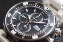 Unboxing Review: Oris ProDiver Chronograph 01 774 7683 7154-Set1 Oris ProDiver Chronograph turned face up. © 2016 blog.thewatchsource.co.uk ALL RIGHTS RESERVED