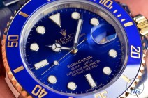 Hand held Rolex Submariner Date [116613LB] review