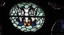 The Holy Spirit as a dove descending (Philip Webb)