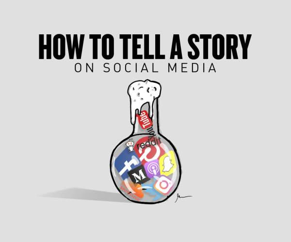How to Tell a Story on Social Media
