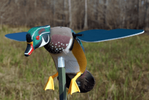 Wood Duck Motion Decoy