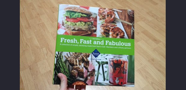 "Cookbook #Giveaway!! Sam's Club ""Fresh, Fast and Fabulous"""