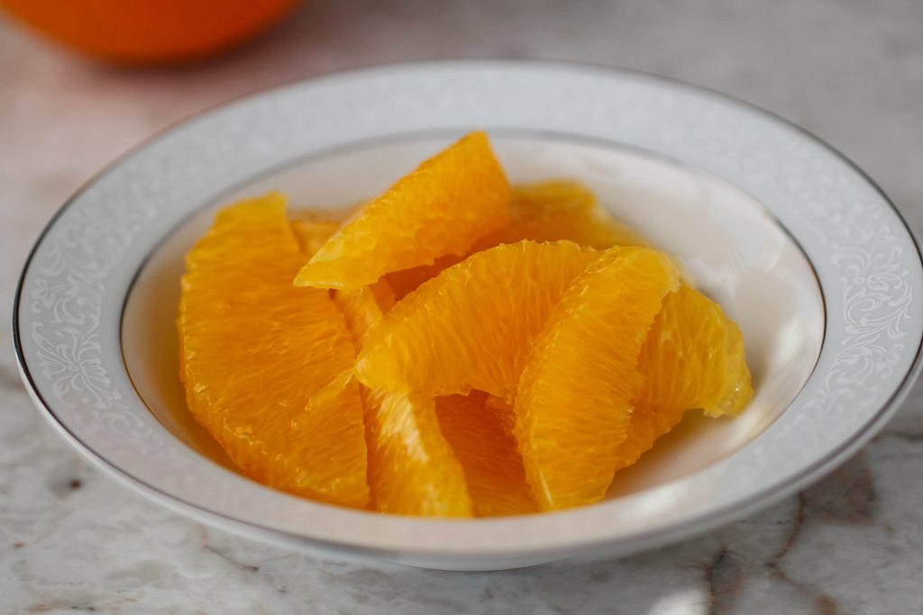 How to Segment an Orange for Salad Kitchen Hack