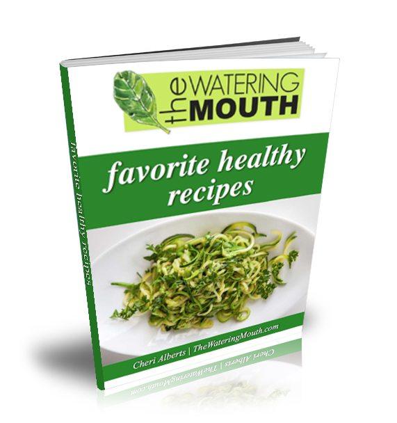 free healthy recipes ecookbook