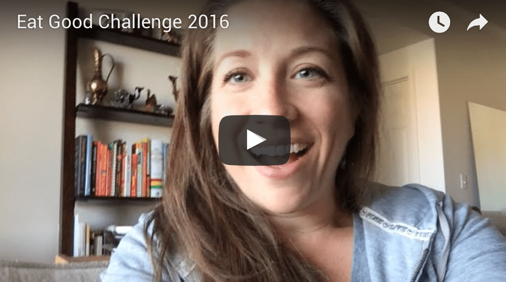 Eat Good Challenge 2016