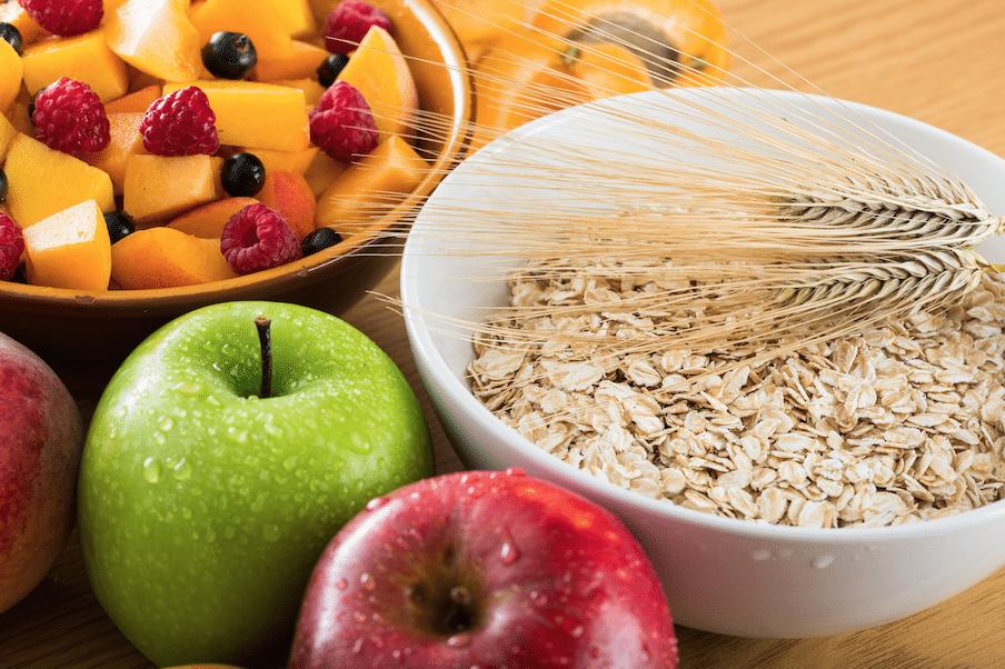 image of fiber foods