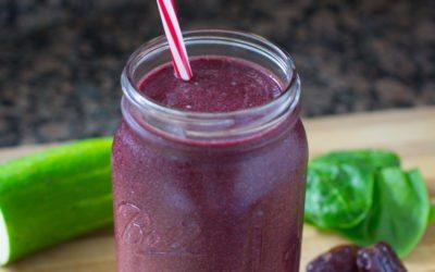 Purple Power Smoothie Recipe by Dr. Joel Fuhrman
