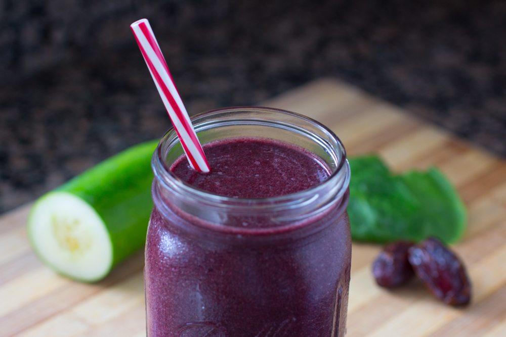 purple power smoothie recipe by dr joel fuhrman