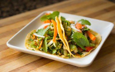 Salad Taco Recipe   Nutritarian   Vegan   Gluten-Free