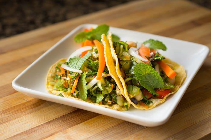 Salad Taco Recipe | Nutritarian | Vegan | Gluten-Free