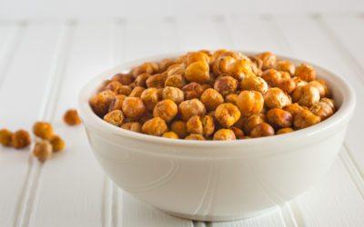 Crispy Roasted Chickpeas Snack Recipe | Nutritarian / Vegan / Gluten-Free