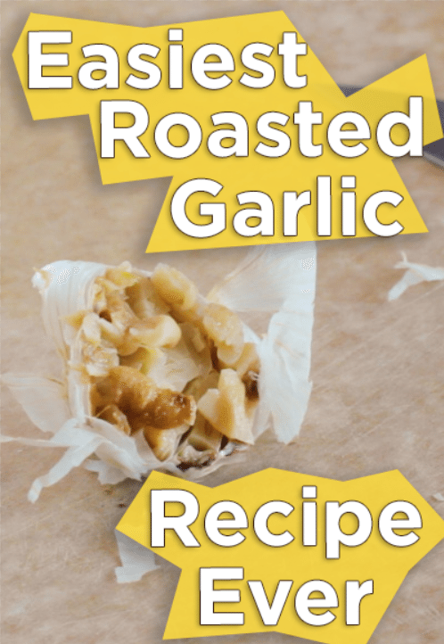 image of roasted garlic for pinterest