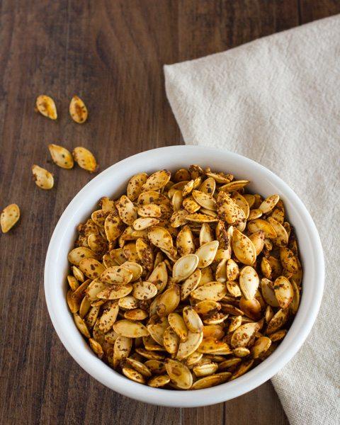 roasted pumpkin seeds no oil no salt recipe