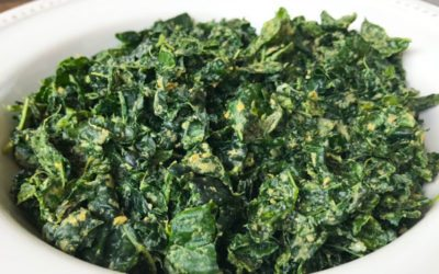 """Cheesy"" Kale Salad Recipe | Vegan | Nutritarian"