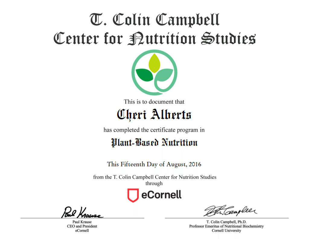 ecornell-plant-based-nutrition-certificate
