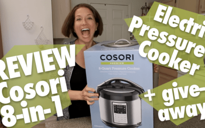 REVIEW Cosori 8-in-1 8-quart Electric Pressure Cooker + Giveaway!
