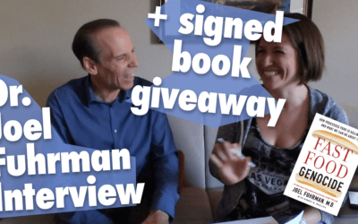 SIGNED COPY of Fast Food Genocide by Dr. Joel Fuhrman Giveaway!