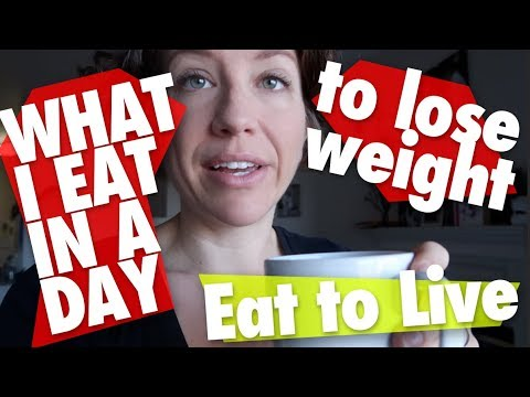 What I Eat in a Day (to Lose Weight) December 2018 // Eat to Live // Nutritarian // Vegan YOUTUBE