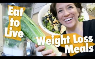 What I Eat in a Day // Eat to Live Weight-Loss Meals // Nutritarian YOUTUBE