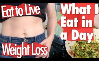 What I Eat in a Day to Lose Weight on the Eat to Live Nutritarian Diet // MARCH 2019 YOUTUBE