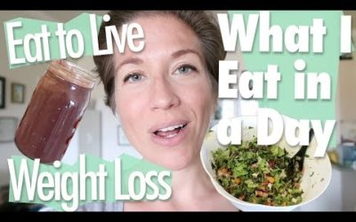What I Eat in a Day (to Lose Weight) // Eat to Live // Nutritarian YOUTUBE