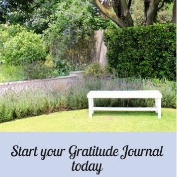 Start your Gratitude Journal today