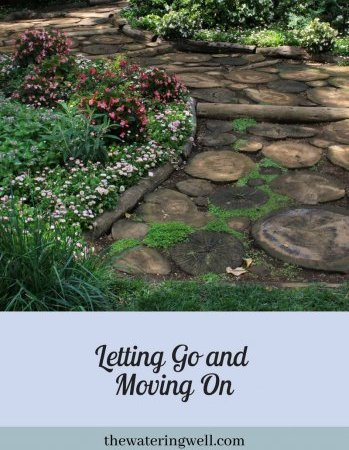 Letting go and moving on