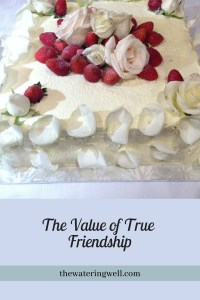 The value of true friendship