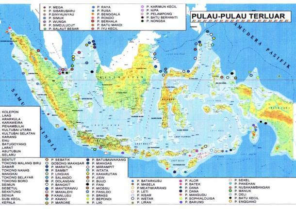Inilah 92 Pulau Terluar Indonesia Batas Negeri