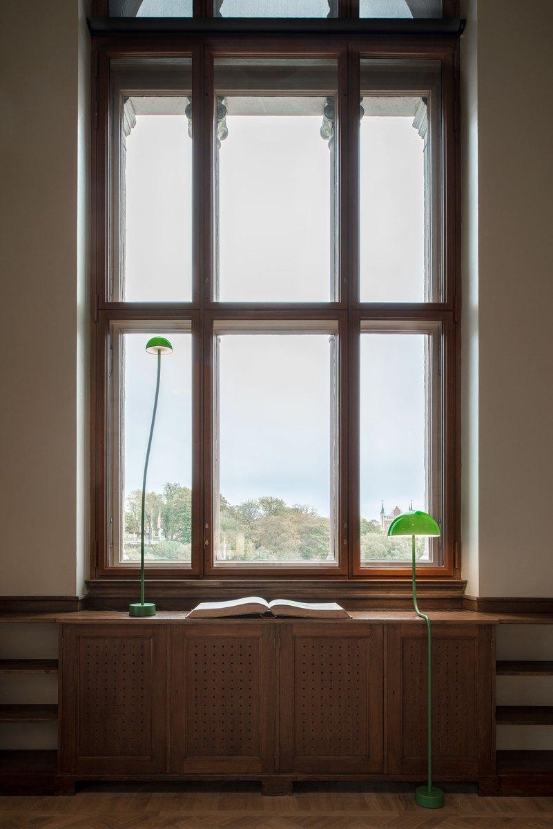 NM Gamla Biblioteket Lampor design Front producent Zero - foto Andy Liffner -