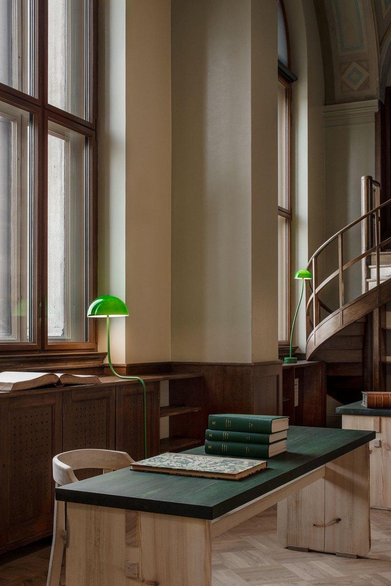 NM Gamla Biblioteket inredning Emma Olbers foto Andy Liffner 20 delar av rummet