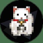 The Waving Cat logo