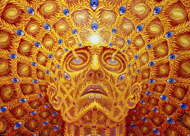 Oversoul, by Alex Grey (detail)