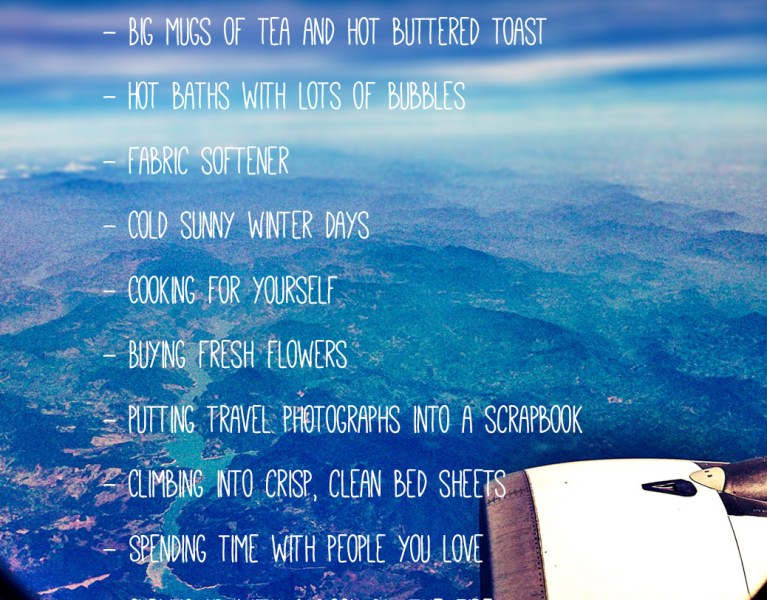 12 things I love about coming home