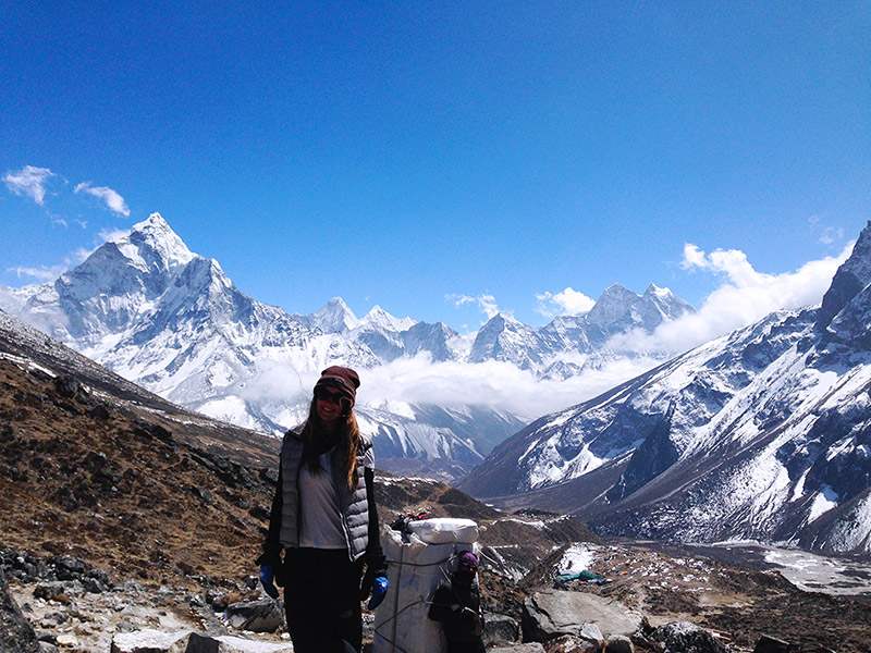 everest base camp trek solo female travel mountains landscape photography