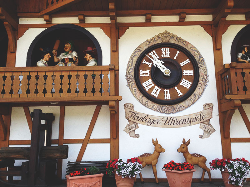 july diary giant cuckoo clock black forest germany
