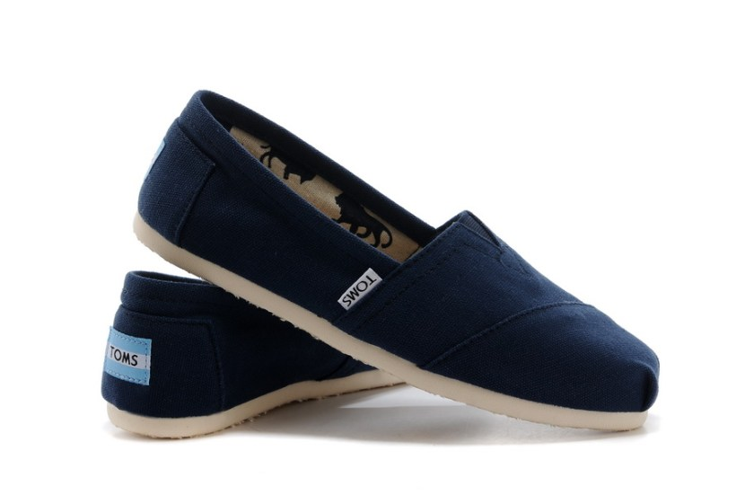 Toms shoes women deep blue