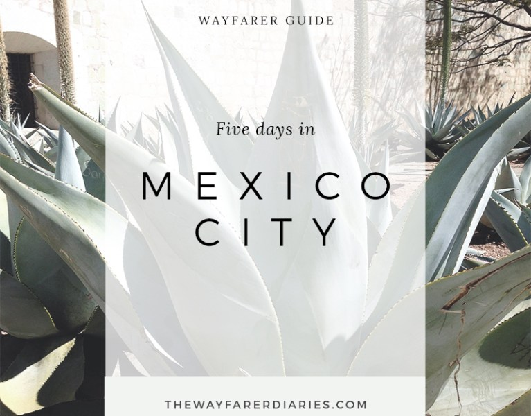 Wayfarer Guide | 5 Days in Mexico City - The Wayfarer Diaries